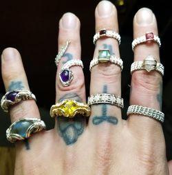 Custom Handmade Wire Rings for Sale in Glendale,  AZ