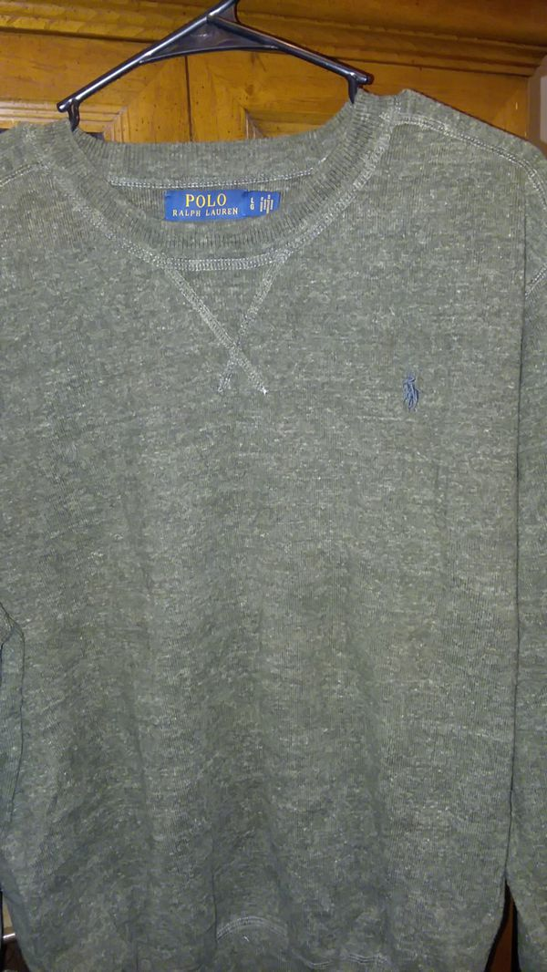 TWO Men's Ralph Lauren Polo Sweaters & One Pair of Levi's Jeans