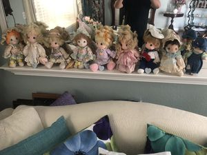 Precious moments dolls $75 or best offer. (Can be sold individually $10 each) for Sale in Castro Valley, CA