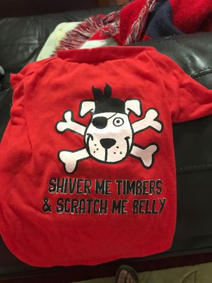 Doggy shirt size small for Sale in Vancleave, MS