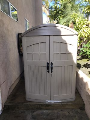 Large Plastic Outdoor Storage Shed for Sale in Rancho Santa Margarita, CA