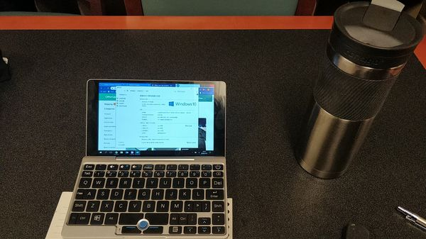 GPD 2.0 Screen touch Gaming pocket computer, Windows 10, 8GB RAM, 64 bits