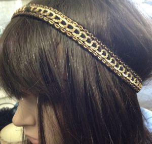 NWT Style & Co gold black chain stretchy head wrap. for Sale in Franklin, TN