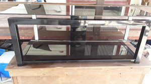 Glass table for TV for Sale in Fort Worth, TX