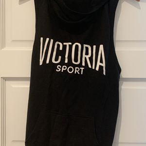 Victoria's Secret VSX sleeveless Hoodie Pullover Size Small for Sale in Washington, DC