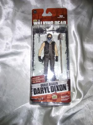 Grave Digger Daryl Dixon Series 7 Figure for Sale in Lavaca, AR