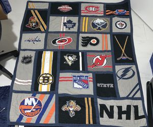 Hockey Quilt for Sale in Margate, FL