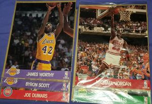 NO HOLDS 5 COLLECTABLE NBA HOOPS ACTION PHOTOS for Sale in Montebello, CA