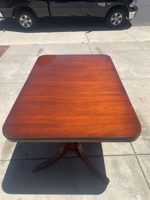 1956 Antique Mahogany Table and Chair Set for Sale in Union City, CA