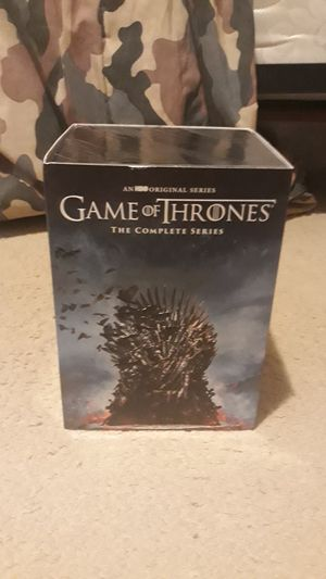 Game of Thrones Complete Series DVD (Price Negotiable) for Sale in Menifee, CA