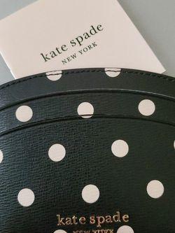 Authentic Kate Spade Polka Dot Card Holder for Sale in Lovettsville,  VA