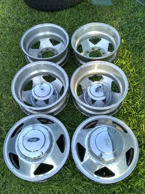 (6) 16 inch factory stock oem wheels dually rims 8x170 99-04 F350 F-350 for Sale in Port St. Lucie, FL