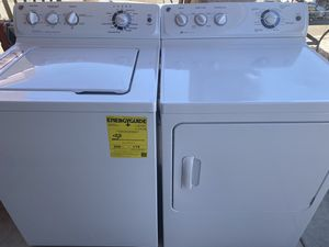 Ge washer and gas dryer set for Sale in Las Vegas, NV