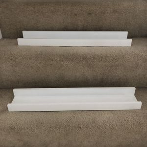 Set of two white book shelves for Sale in North Potomac, MD