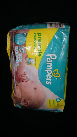 Brand New!!! Pack of preemie Pampers!!! for Sale in Lincoln Acres, CA