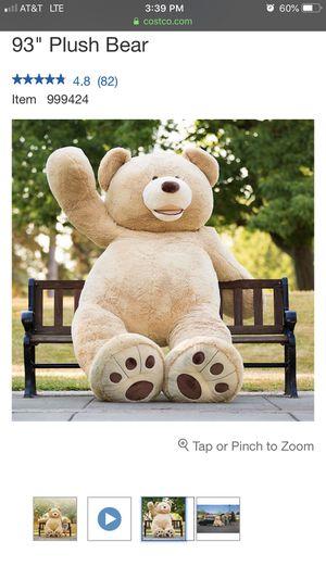 big ass teddy bear for Sale in Lake Oswego, OR