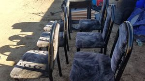 Metal chairs for Sale in Victorville, CA