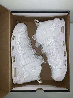 Nike uptempo white sz 12.5 for Sale in Hialeah Gardens, FL
