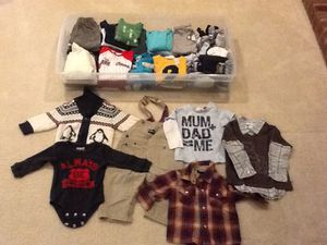 Assorted Baby boy clothes for 9-12 months. $3 per item. for Sale in North Bethesda, MD