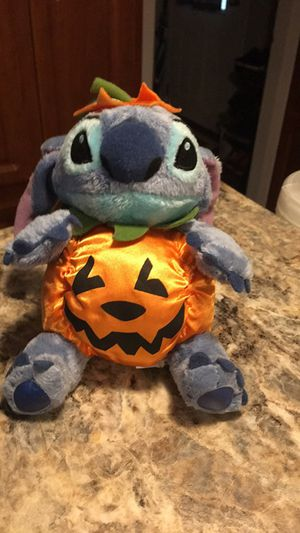 Disney Store authentic Stitch pumpkin for Sale in Clearwater, FL
