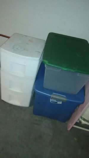 3 Storage Bins/Containers for Sale in Eastvale, CA