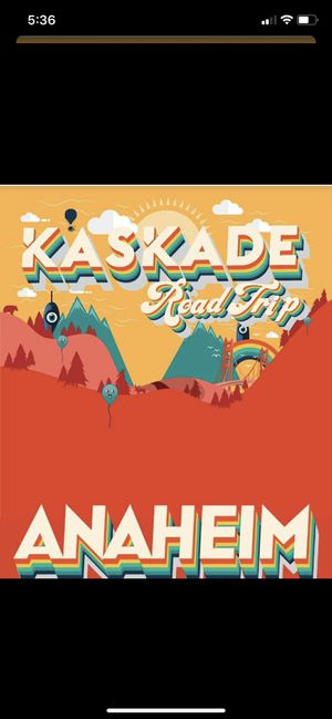 Kaskade Halloween night 10/31 Anaheim for Sale in Irvine, CA