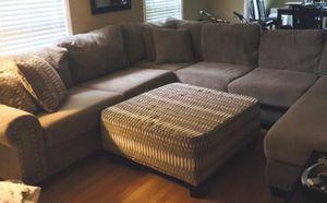 Couch and ottoman for Sale in Murfreesboro, TN