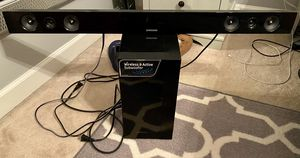 Samsung soundbar and wireless subwoofer for Sale in Clemmons, NC