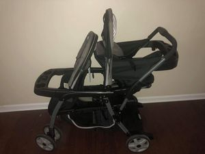 Graco Sit to Stand Double Stroller Click Connect for Sale in Mebane, NC