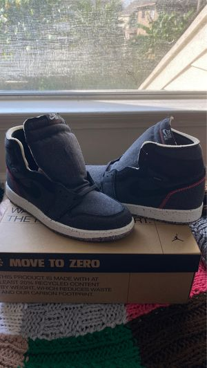 Nike Men's Air Jordan 1 High Zoom Space Hippie CRATER Mens Size 12 for Sale in Seabrook, TX