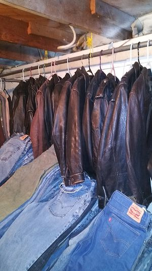 LEATHER MOTORCYCLE JACKETS?--CHAPS -VESTS for Sale in Oregon City, OR