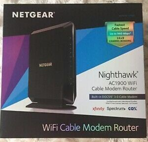 Netgear NIGHTHAWK Wifi Modem Router model C7000 (CABLE Wifi modem router combo) for Sale in Phoenix, AZ