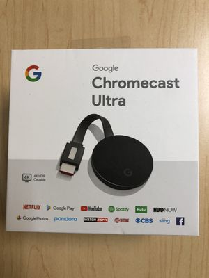 Chromecast Ultra 4K for Sale in Houston, TX