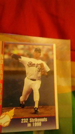 5 Nolan Ryan baseball cards good condition collectibles for Sale in Columbus, OH