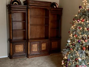 Bookcase Entertainment Storage Showcase for Sale in Chandler, AZ