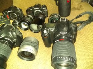 Nikon D50 Camaras and some lenses for Sale in Santa Ana, CA