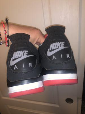"Air Jordan Retro 4 ""Bred"" Size 11 for Sale in Glendale, AZ"