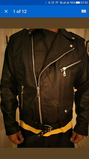 Motorcycle Jackets 100 %bull leather for Sale in Hollywood, FL