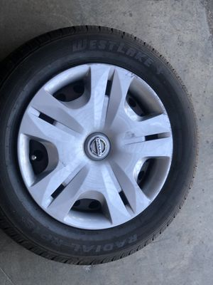 4 tires with rims size 185 /65R15 for Sale in Montclair, CA
