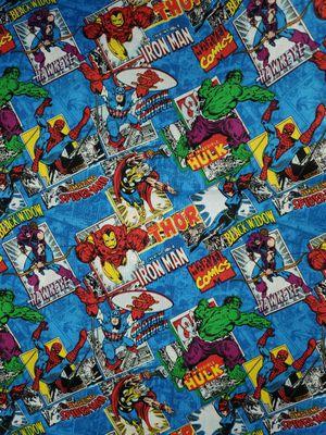 Marvel Comic book fabric for Sale in Dixon, MO