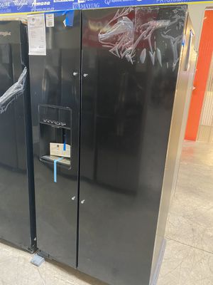 NEW Counter Depth Black Side by Side Refrigerator for Sale in Gilbert, AZ