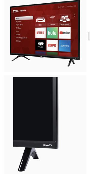 TCL 32 inch smart tv - ROKU for Sale in Ontario, CA