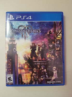Kingdom hearts 3 ps4 for Sale in Nashua, NH