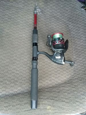 Collapsible fishing pole for Sale in Marysville, WA