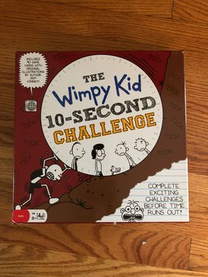 The wimpy kid 10 second challenge game! for Sale in Rockville, MD