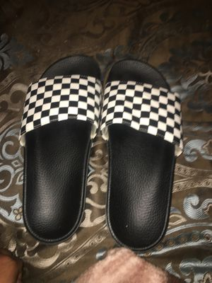 Men's Vans Slides for Sale in Corpus Christi, TX
