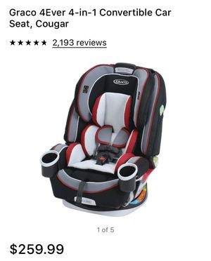 Graco 4 Ever 4 in 1 convertible car seat for Sale in Queen Creek, AZ