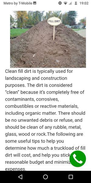 Fill dirt needed.nesecito tierra para rellenar. for Sale in Houston, TX