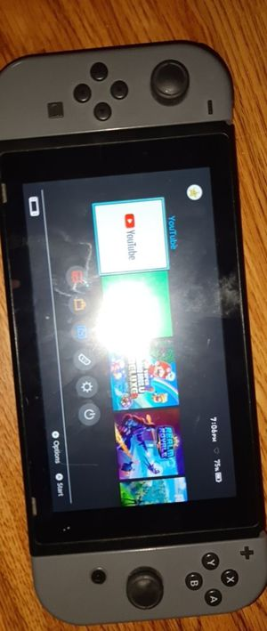 Nintendo switch no cords. Just system and grip for Sale in Puyallup, WA