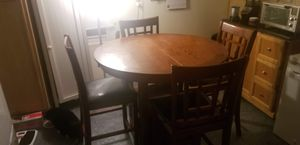 Kitchen table with drop leaf for Sale in Speedway, IN